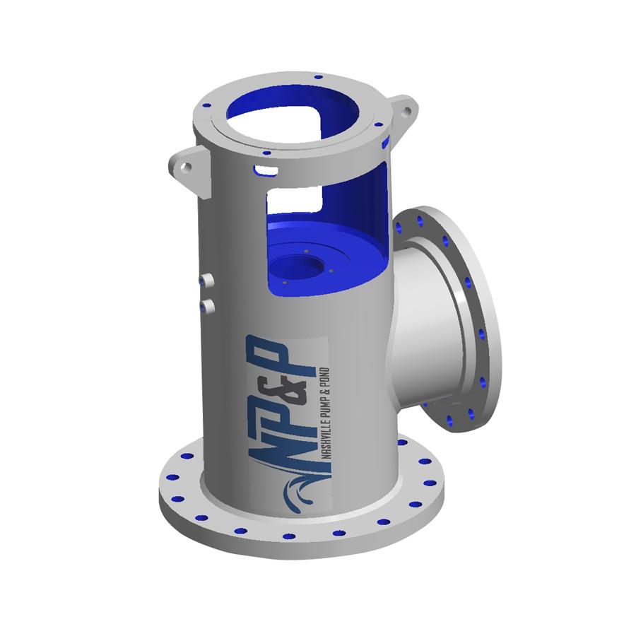 Industrial Pump Fabrication